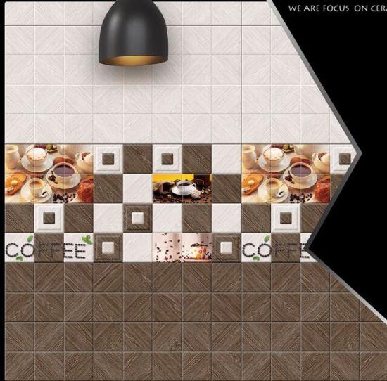 China 30x60 Inkjet Kitchen Flower Design Ceramic Wall Tiles