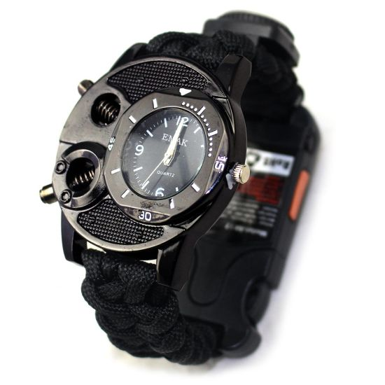 New Military Survival Kits Paracord Tactical Survival Watch