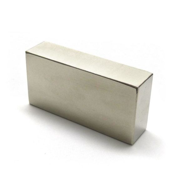 Super Strong Sintered Rare Earth Permanent Block Magnets N52 pictures & photos