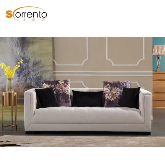 China Modern Cheap Price Chesterfile Leather Sofa ...