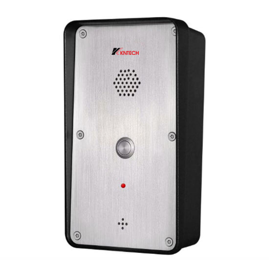 Outdoor Intercom Knzd-45A IP Video Doorphone with Camera pictures & photos