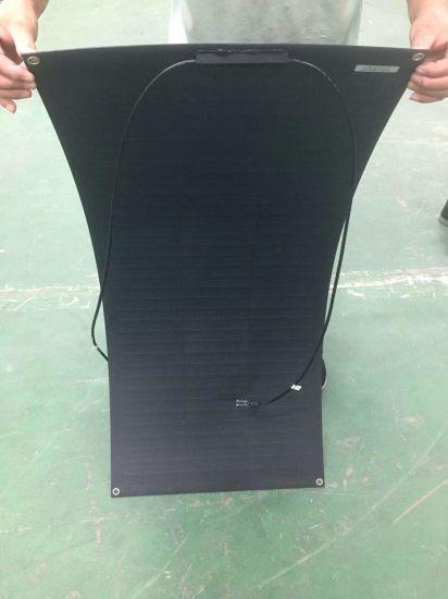 100W Flexible Solar Panel Shingle Cell Over Lap for Caravan