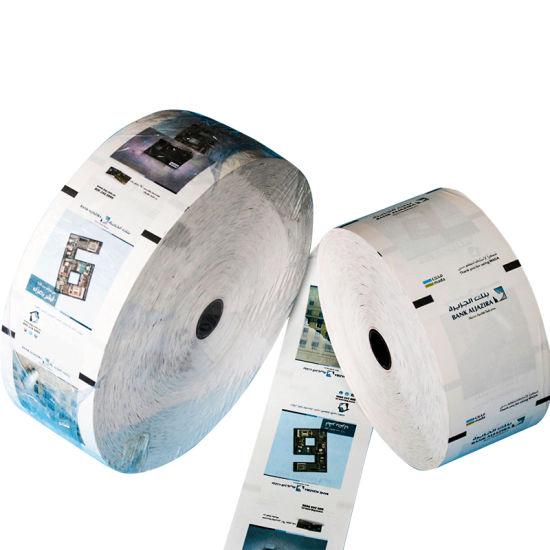 China Adhesive Printer Jumbo Thermal Matt Thermal Paper