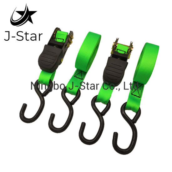 "1""25mm 1500lbs Polyester Ratchet Strap Set"