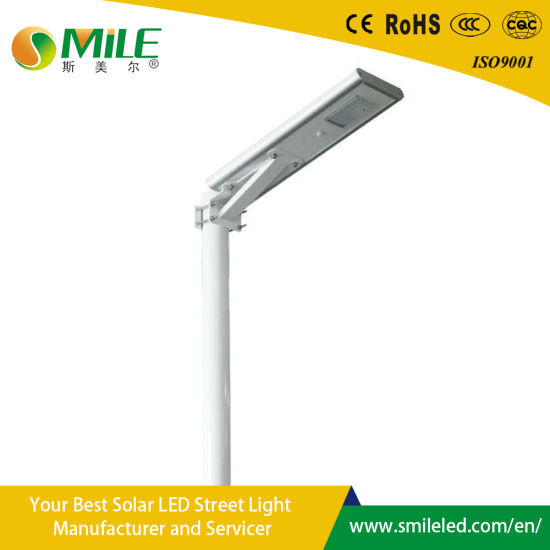 50W IP65 Outdoor Adjustable Integrated Motion Sensor All in One LED Solar Light