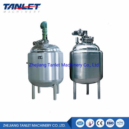 Stainless Steel Liquid Mixing Tank Preparation Tank