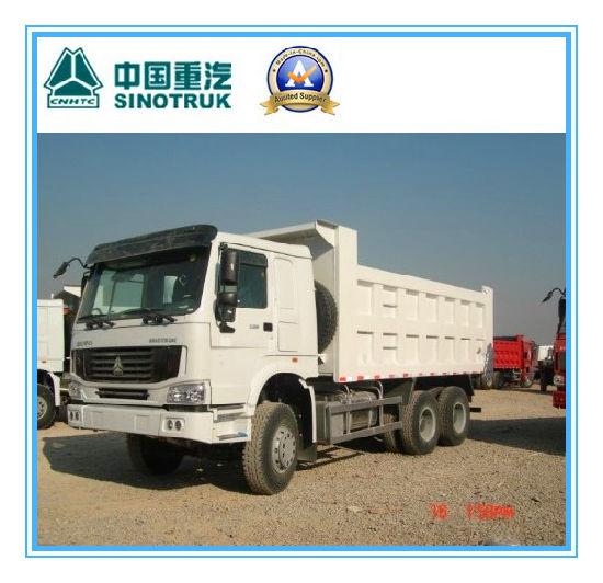 25ton 336HP Sinotruk HOWO 6X4 Heavy Duty Dump Truck with Front Lift Type