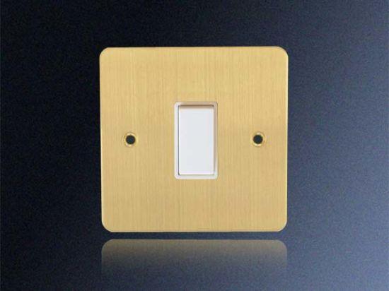 China 1 Gang 1 Way Plate Switch China Switch Wall Switch