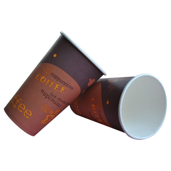 Dispoble Paper Coffee Double Wall 8oz SIP Lids Cups