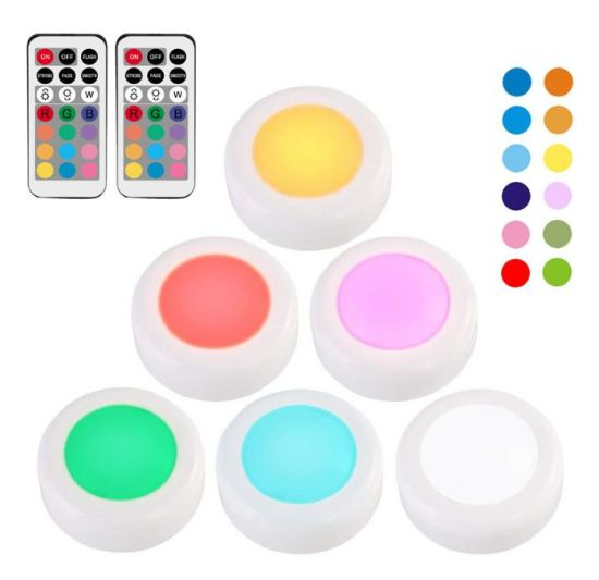 Amazon Colorful Holiday Party LED Battery RGB Night Light