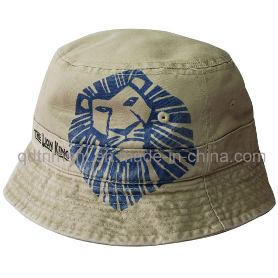 56b0050db1f5d Heavy Washed Screen Print Embroidery Fishing Bucket Hat (TMBH1989) pictures    photos