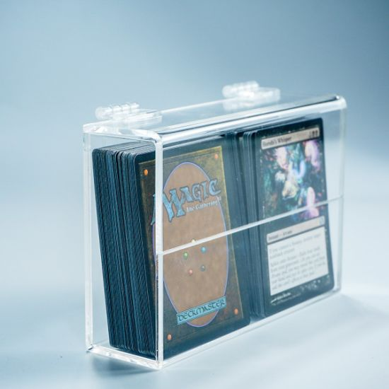 Clear Transparent Acrylic Perspex Gaming Card Sport Card Case Holder