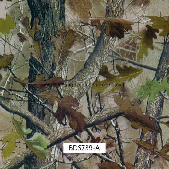 Spring Leaf Camo Hydro Films for Outdoor Items (BDS739A)