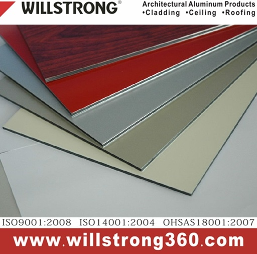 Customized Color Aluminum Composite Panel Architectural Facades Panels Canopy Ceiling Signage Ventilated Facades pictures & photos