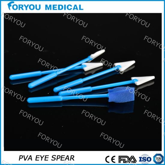 Blue OEM Eye Spear Sponge Lasik Eye Drape pictures & photos