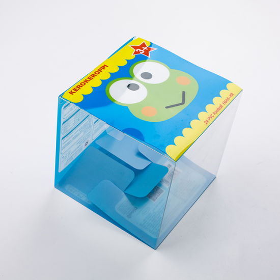 Manufacturers Custom Printed Clear Acetate Plastic Boxes for Gift