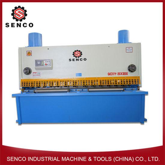 China Manufacturer 6m Hydraulic Shearing Machine, Steel Shearing Machine, Metal Shearing Machine