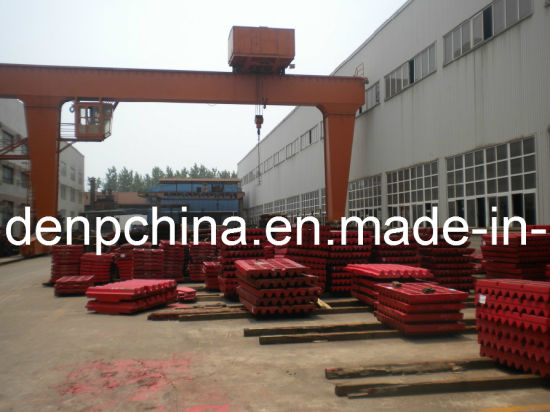 Jaw Crusher Jaw Plate in High Quality pictures & photos