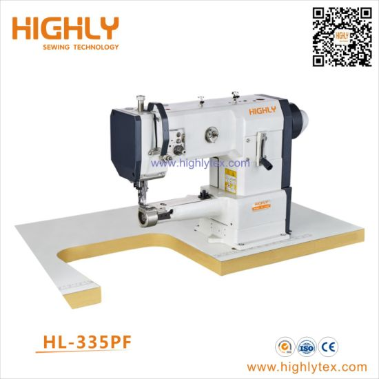 Hl-335PF Unison Feed Cylinder Bed Heavy Duty Sewing Machine
