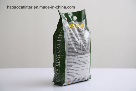 Katze King Original Color Dust -Less Bentonite Cat Litter pictures & photos