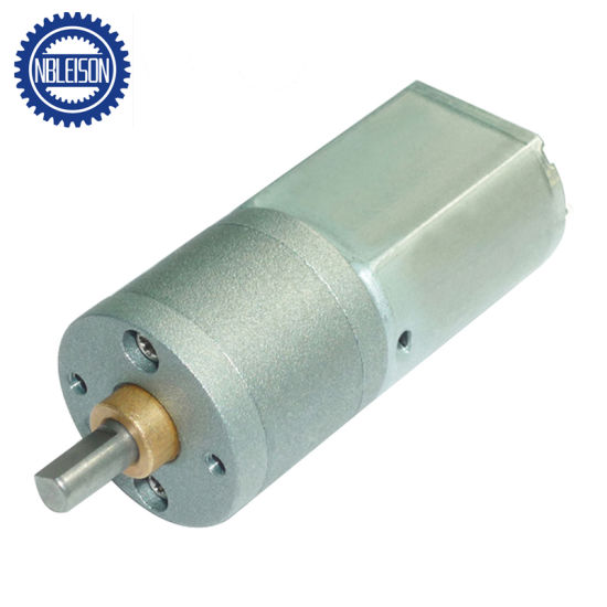 China 20mm 100rpm 500rpm 1000rpm 6V 12V DC Motor with Gear