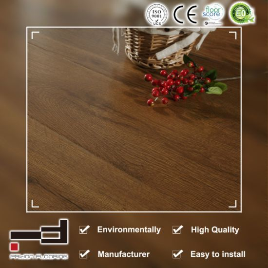 Glossy Surface HDF Cheapest Price Laminate Flooring pictures & photos
