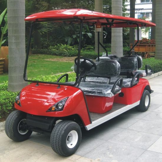 Ce Appproved China OEM Electric Golf Carts Dg-C4 with 4 Seats pictures & photos
