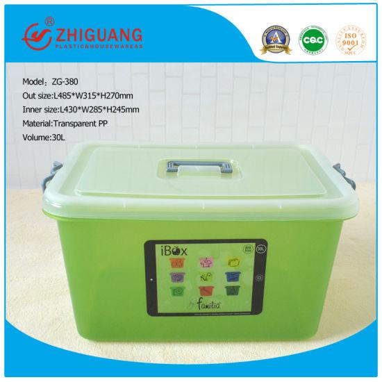 High Quality Household Plastic Products 30L PP Plastic Storage Box Gift Box Packaging Box  sc 1 st  Zhejiang Zhiguang Plastic Pallet Co. Ltd. & China High Quality Household Plastic Products 30L PP Plastic Storage ...