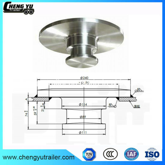 China 35 Bolt In Semi Truck Parts Kingpin For Sale China 50