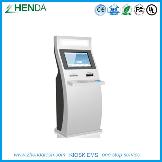 Property Self-Payment Kiosk ID Fingerprint Ai Face Recognition pictures & photos