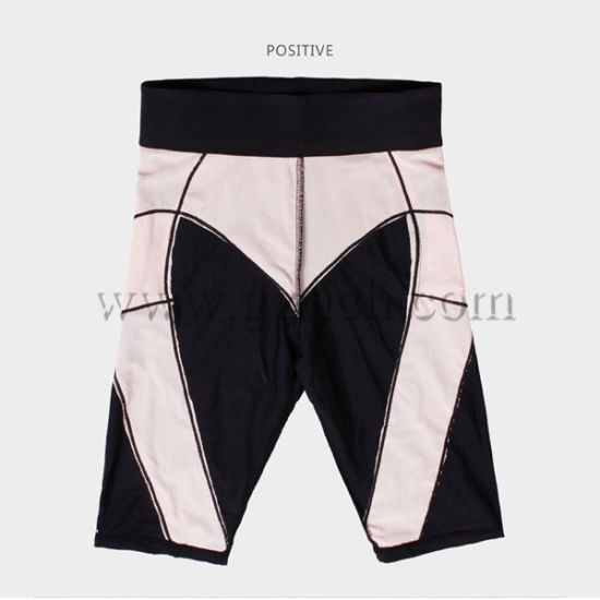 Japan Unisex Elastic Sports Slimming Short Pants pictures & photos