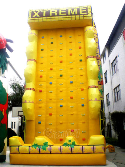 Giant Inflatable Rock Climbing Wall for Sale Chsp157 pictures & photos