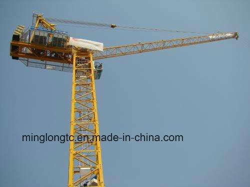Qtz Series Internal Outernal Climbing Tower Crane Luffing Tower Crane L220-10t