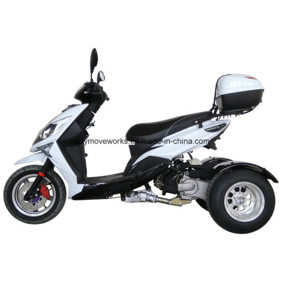 China 150cc Tilting Trike Electric Scooter Electric