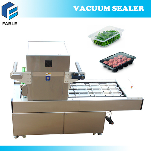 Linear Automatic Vacuum Gas Flushing Tray Sealer (FBP-700) pictures & photos