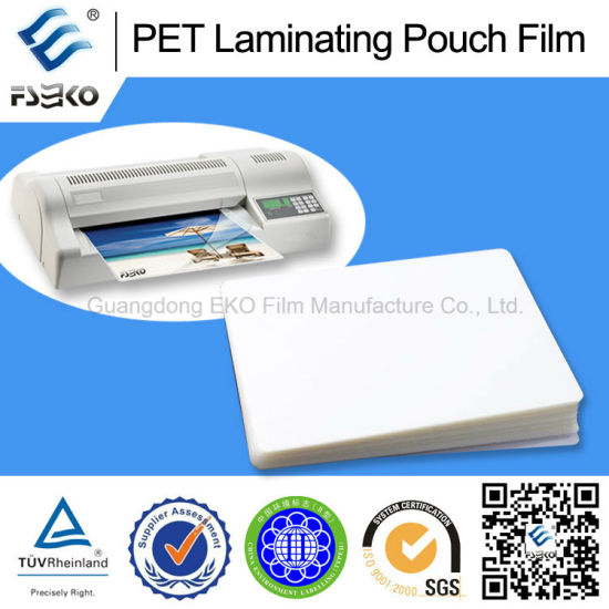 A3 Pet Thermal Laminating Pouch Film with Various Thickness pictures & photos