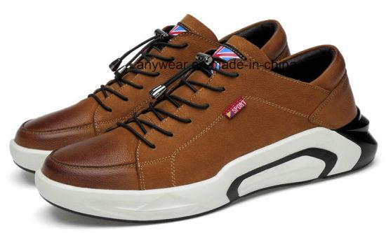 Leather Footwear Men's Fashion Dress Sneaker Shoes (963)