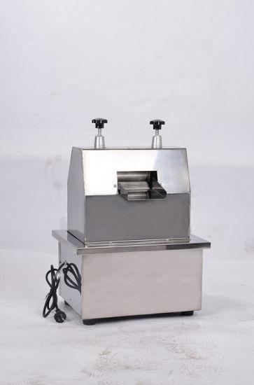Food Sanitary Stainless Steel Table Type Sugar Cane Juicer