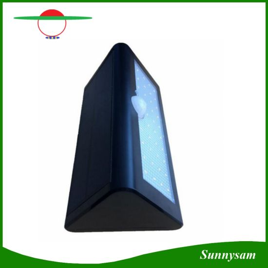New 38 LED Solar Wall Light Motion Sensor Garden Light Outdoor Wall Lamp 3 Working Modes for Garden Lighting pictures & photos
