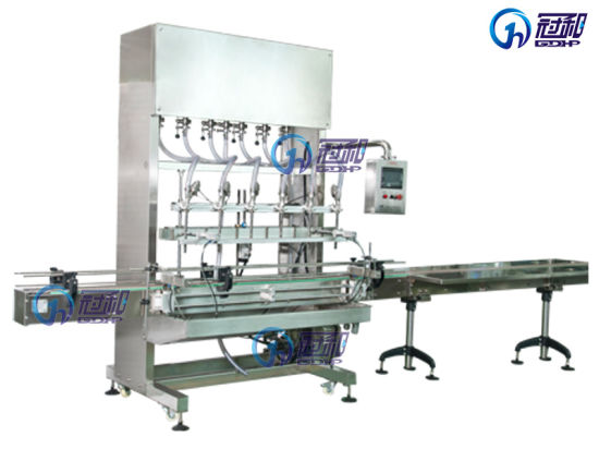 Automatic Liquid Bottle Filling Machine with Capping Labeling Line pictures & photos