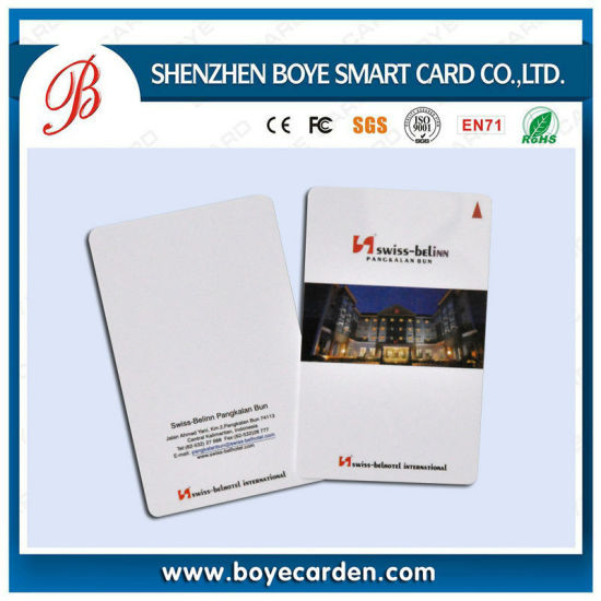 Printable Plastic Em4100 Chip RFID 125kHz Proximity Em ID Card pictures & photos