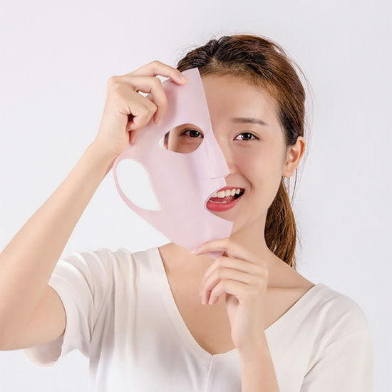 Wrapping Facial Beauty Silicone Female Cover Reusable Cosmetic Mask Product