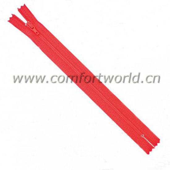 Nylon Zipper for Garment