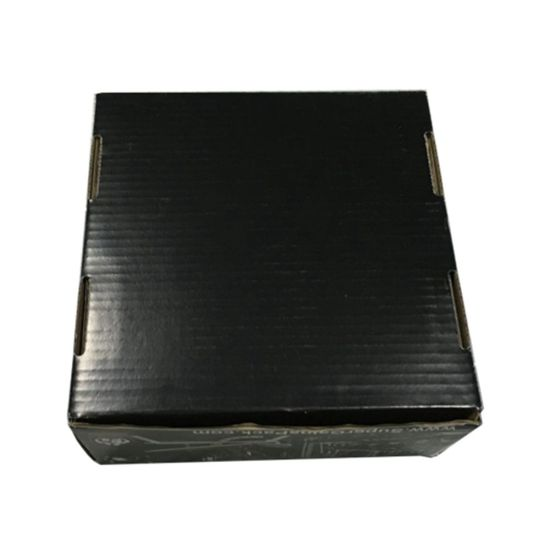 Custom Designed Glossy Black Printing Corrugated Shipping and Packing Box pictures & photos
