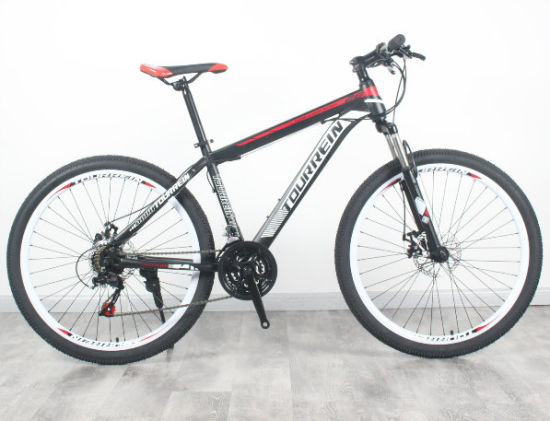 26 27.5'' Steel Suspension 21 Speed Disc Brakes Mountain Bike