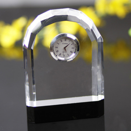 Fashion Table and Desk Decoration Cheap Promotion Gift Crystal Watch pictures & photos