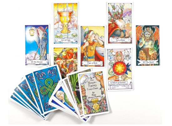 The Essential Tarot Kit, Book and Card Set