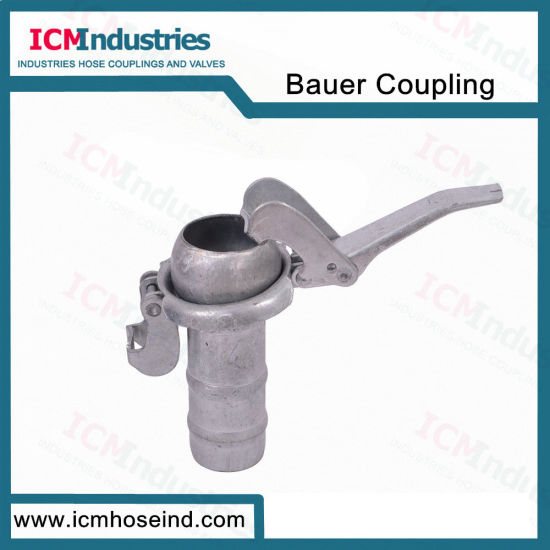 Carbon Steel Male End with Lever Bauer Coupling