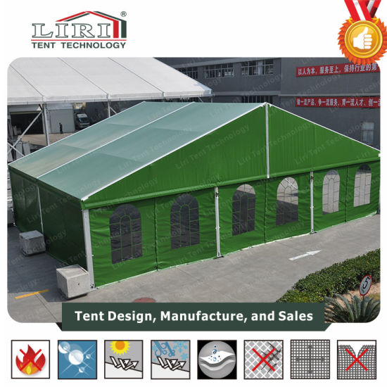 Winter Use Army Green Military Tent with PVC Wall pictures & photos