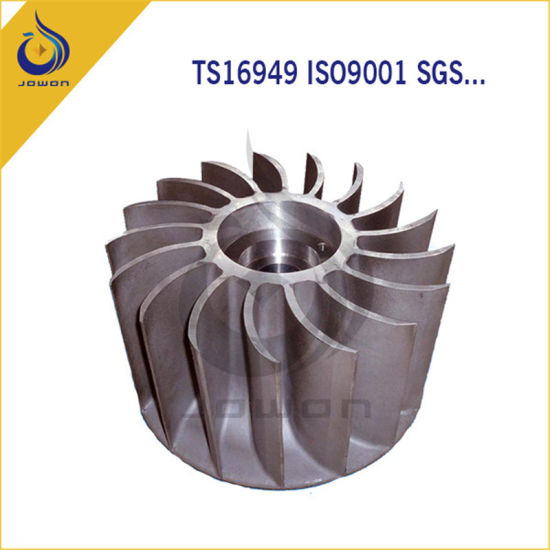 CNC Machining Customized Casting Iron Water Pump Impeller